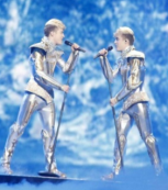 Image of Ireland's entrants, Jedward