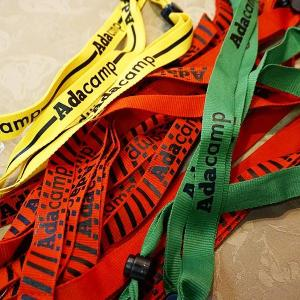 Colour-coded lanyards, by @evablue